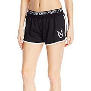 🆕 MinkPink Women's Jogger Shorts Black Sz M!